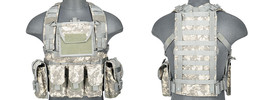 Lancer Tactical Airsoft Modular Chest Rig Vest ... - $64.99