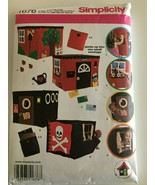 Simplicity Sewing Pattern 1676 Childs Playhouse Cottage Pirates Hideout ... - $9.99