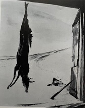 """Andrew Wyeth: Very Rare Vintage Bookplate Print: """"Young Buck"""" - $12.00"""