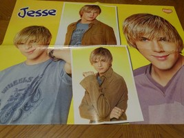 Jesse Mccartney teen magazine poster clipping many faces Bop - $3.50