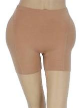 New Women's Fullness Butt Hip Padded Enhancer Shapewear Panty Beige #8019