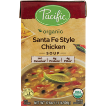 Pacific Foods Organic Santa Fe Style Chicken Soup 17.6 oz ( Pack of 3 ) - $23.36