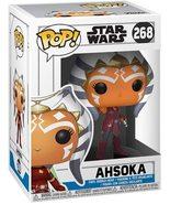 Star Wars Funko POP Ahsoka Tano #268 The Clone Wars Bobble head figure - $14.99