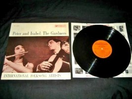 Peter & Isabel The Gardners 1961 Traditional Folk Songs LP 33 Record Vin... - $14.84