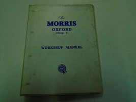 The Morris Oxford Series V Service Repair Workshop Manual OEM Book Used ... - $118.79
