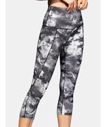 Women Tie Dye Quick Dry High Waist Slim Sport Yoga Pants With Side Pocket - $32.99