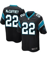 Youth Christian McCaffrey Jersey #22 Carolina Panthers Black Stitched Jersey - $35.99