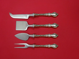 Du Barry by International Sterling Cheese Serving Set 4 Piece HHWS  Custom - $309.00