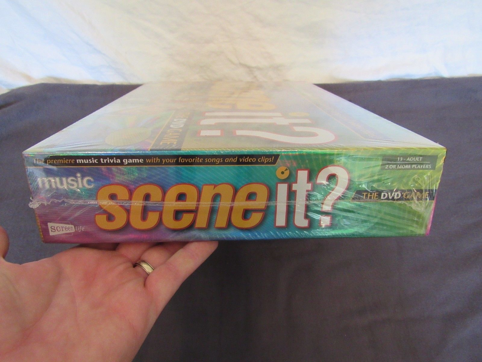 Scene it? Music Edition DVD Game New Sealed Christmas Present