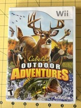 Cabela's Outdoor Adventures - Nintendo  Wii Game Used Very Good - $9.75