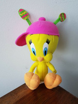 "9"" Tweety Bird Looney Tunes Warner Bros Easter Plush Stuffed Animal Toy - $9.85"