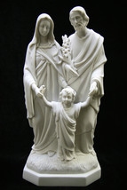 "15"" Holy Family Joseph Jesus Mary Catholic Statue Sculpture Made in Italy - $119.95"