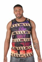 Famous Stars and Straps Chain Coast Mens Mesh Sub Tank Top