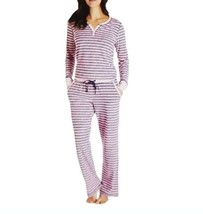 NEW Nautica Women's 2 pieces Pajama Textured Stretch Sleepwear Set Size ... - $15.83