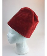 BBC Doctor Dr Who Unisex Costume Cosplay Red Fez Hat - $22.77