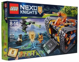 LEGO NEXO KNIGHTS Axl's Rolling Arsenal 72006 Building Kit (604  Piece New) - $77.77