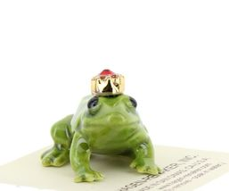 Birthstone Frog Prince July Simulated Ruby Miniatures by Hagen-Renaker image 5