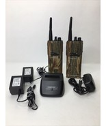 2 MOTOROLA TALKABOUT DISTANCE DPS 5 MILE RADIOS New Batteries And Charge... - $246.51