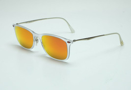 Ray Ban RB4225 646/6Q-52 Sunglasses - Transparent/Red Mirror - $129.95