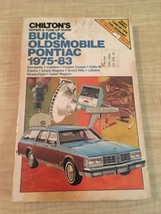 Automotive Repair & Tune-Up Guide Chilton 7308 Buick Oldsmobile Pontiac 1975-83 - $8.79