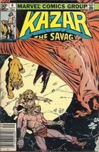 (CB-7) 1981 Marvel Comic Book: Kazar the Savage #6 - $3.00