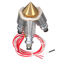 V6 1.75mm/0.4mm Brass 3 In 1 Out Multi Nozzle Kit for 3D Printer - $21.99