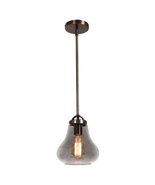 Access Lighting 55545-DBRZ/SMK Pendants Dark Bronze Metal Flux - $135.50