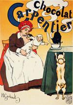 1980 French Poster.CHOCOLATe.Art Nouveau.Room Decor.Interior design.28 - $10.89+