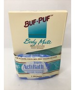 Buf Puf Back Scrub Refill Double-Sided Body Mate Dual Texture Discontinu... - $127.71