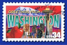 Patty Murray Senator Signed 5x7 Washington postcard - $18.58