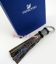 New in Box AUTHENTIC Swarovski  Tayla Reptile Brown Key Ring - $32.66