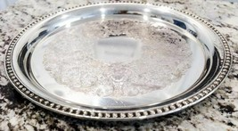 "William Rogers 12""Silver Plate Serving Platter - $23.75"