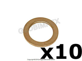 Mercedes Seal Ring for Transmission Drain Plug 10 X 15 X 1 mm FISCHER & ... - $9.60