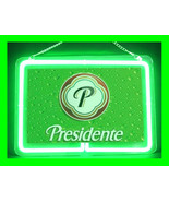 Presidente Dominican Beer Hub Bar Display Advertising Neon Sign - $54.99