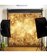 10x10ft Golden Spots Glitter Sparkl Photography Background Backdrop Studio - $24.80