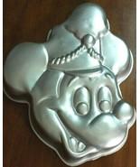 Vintage Wilton Band Leader Mickey Mouse Cake Pan 1976 Baking Disney Retired - $11.63