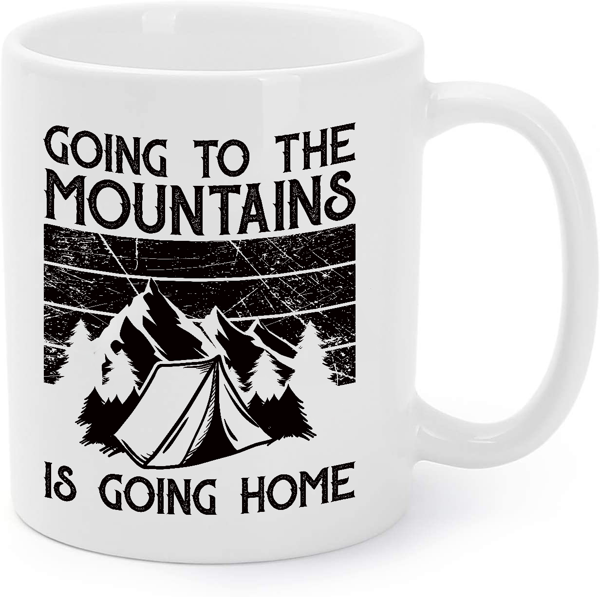 Primary image for Going To The Mountains - Camping Gift Coffee Mug
