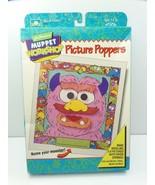 Golden Muppet Workshop Craft Kit 5408 Jim Henson's Picture Poppers Wiggl... - $29.99