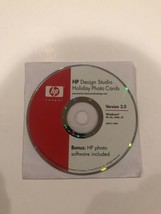 HP Design Studio Holiday Photo Cards Version 2.0 (PC, 2005) - $9.89