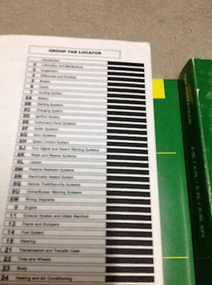 1998 JEEP WRANGLER Service Shop Repair Manual Set OEM FACTORY W PT & BODY DIAG image 4