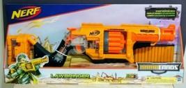 Nerf By Hasbro Doomlands 2169 Lawbringer Blaster 12x Elite Dart Rotating Drum - $31.92