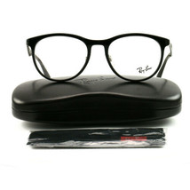 Ray-Ban RX7116 Eyeglasses 5196-53-19-145 Black Plastic Demo Lens - $70.30