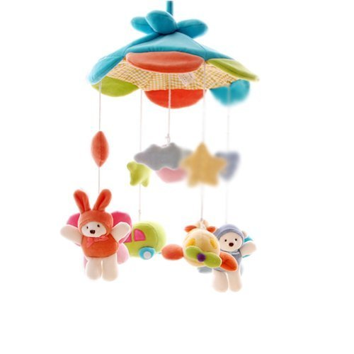 Among Cloud Baby Music Take Along Mobile Infant Dreams Swings Cribs Decors