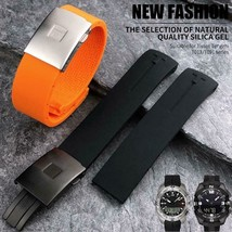 Watchband For Tissot T-touch T013 T047 Rubber Waterproof Watch Band Stra... - $19.08+