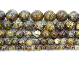 Natural Fire Lace Opal Gemstone Round Spcer Beads 15.5'' 4mm 6mm 8mm 10m... - $4.80+