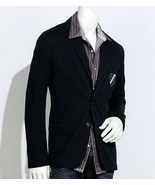 Authentic Icon American Idol Young Mens Pinstripe Dress Blazer L Large - $69.99