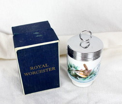 Royal Worcester King Size Egg Coddler Wren Birds England W/ Original Box - $19.79