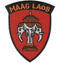 ARMY MAAG VIETNAM WAR LAOS  EMBROIDERED MILITARY PATCH - $18.04