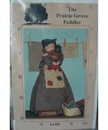 """Craft Pattern 123 """"Lydia"""" Folk Art Doll W/ Baby- 17"""" & 7"""" UNCUT - $5.00"""