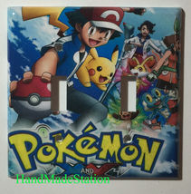 Pokemon XY Light Switch Duplex Outlet & more Wall Cover Plate Home decor image 3